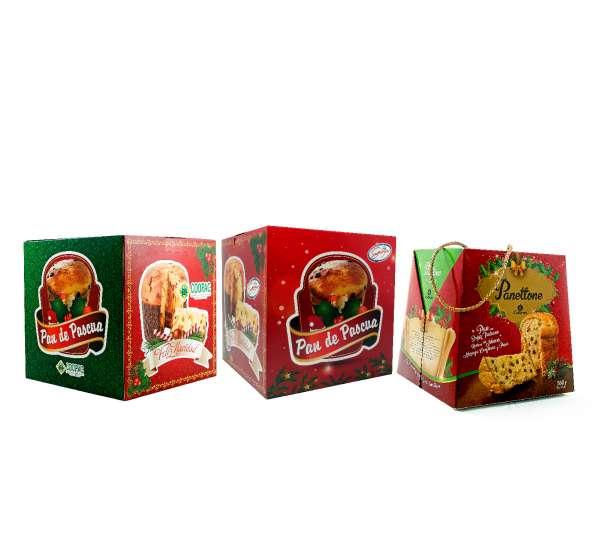 cajas para panetone pan de pascua pandoro