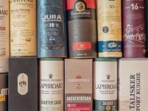 ejemplos de cajas para botellas de whisky