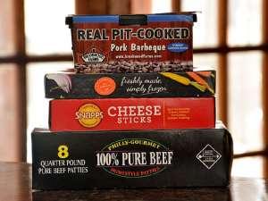ejemplos de cajas de carton para alimentos congelados