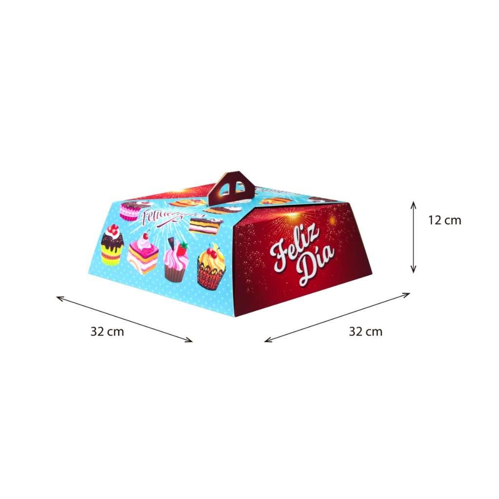 Cake Box 1 Libra Impresión Genérica