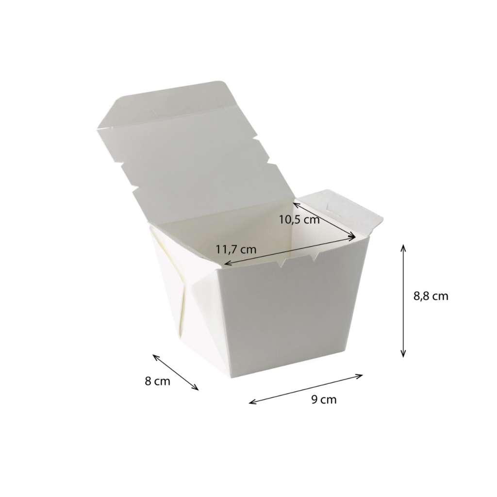 Lunch box cónica Pequeña  Impermeable y Antigrasa