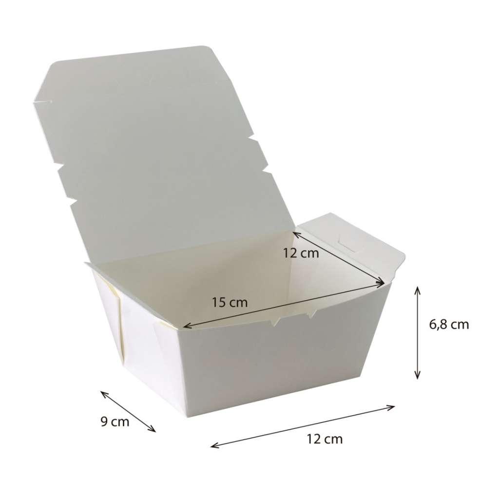 Lunch box Cónica Mediana Impermeable y Antigrasa