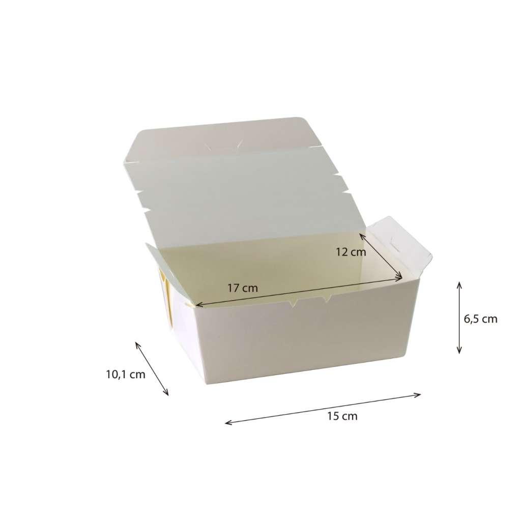 Lunch box cónica Grande  Impermeable y Antigrasa