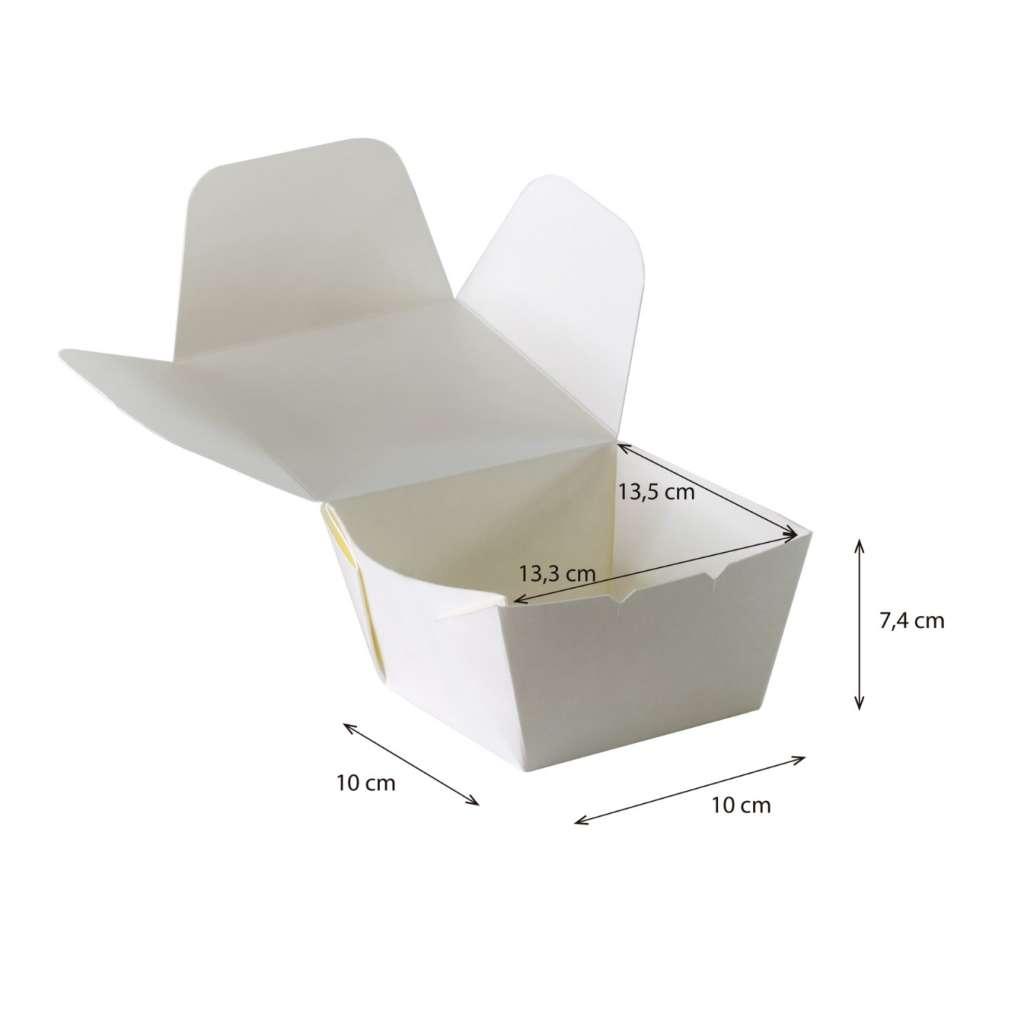 Lunch box  Pequeña Cónica Reforzada Impermeable y Antigrasa