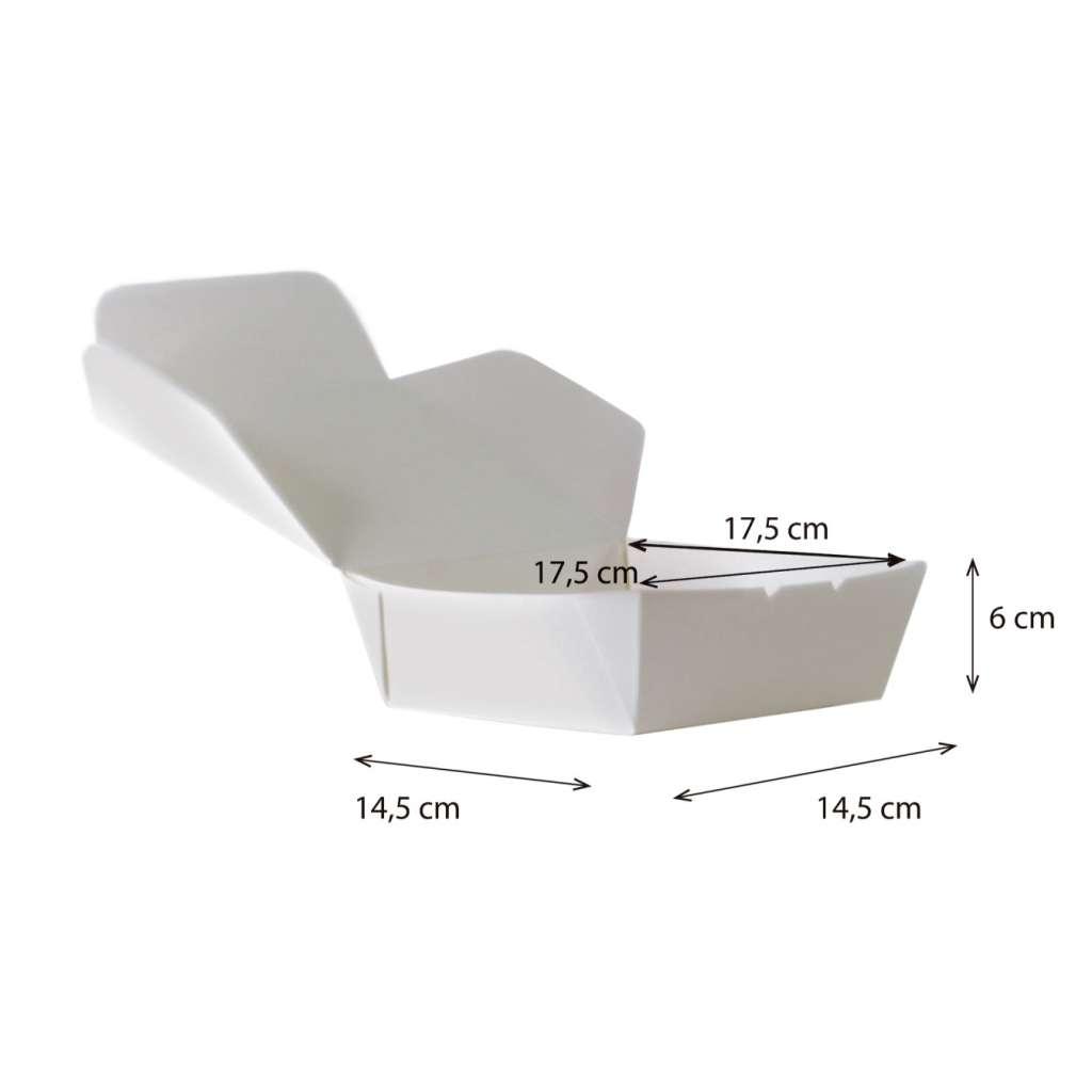 Lunch Box  Mediana Cónica  Reforzada  Impermeable y Antigrasa