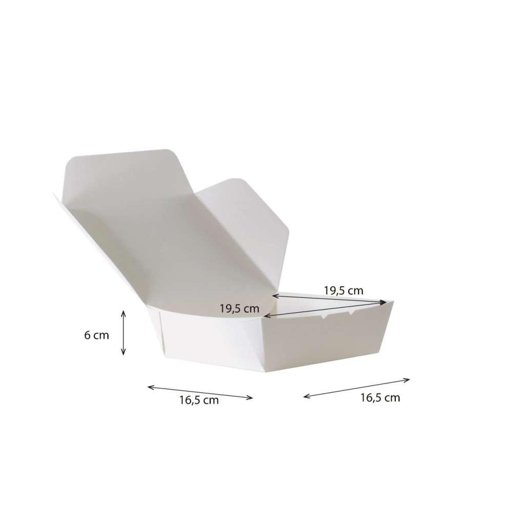 Lunch Box Grande Cónica Reforzada Impermeable y Antigrasa