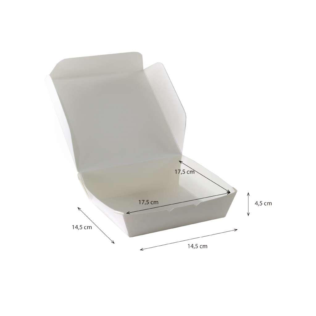 Lunch Box  Cuadrada Reforzada Impermeable y Antigrasa