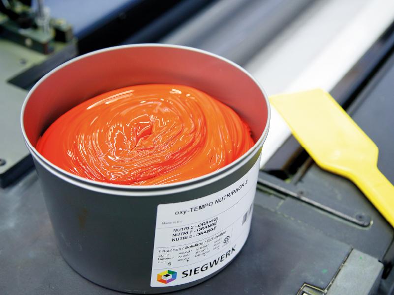 colores en las tintas de impresión offset