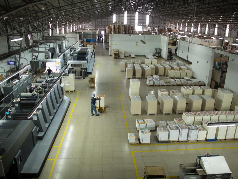 impresión offset planta Litotec