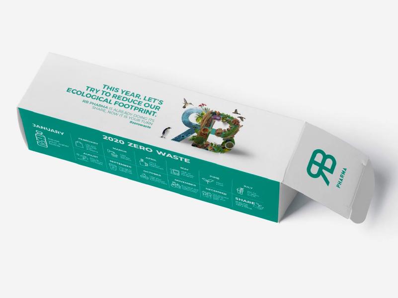 cartulina dúplex en cajas para medicamentos