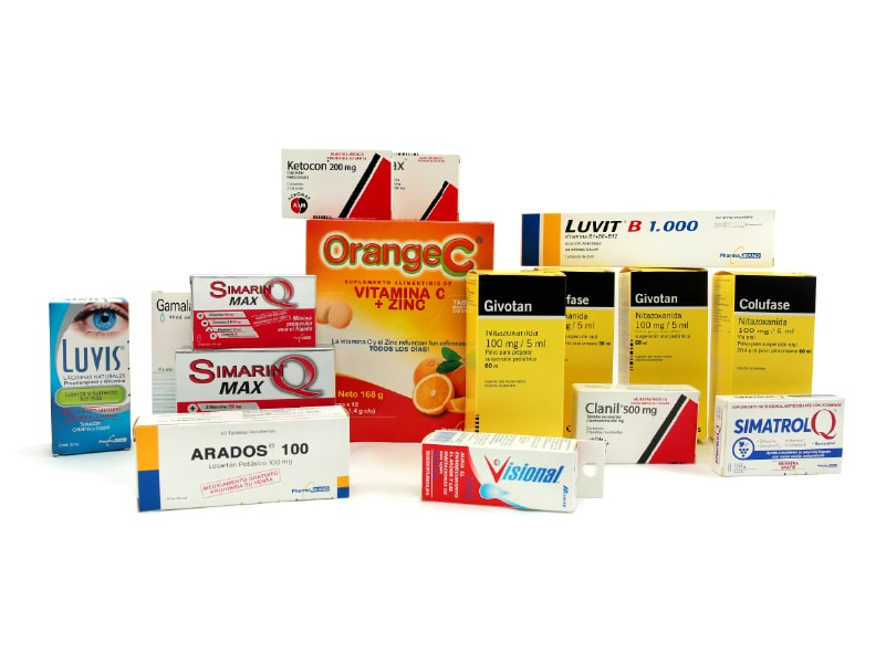pegado de cajas automático para medicamentos